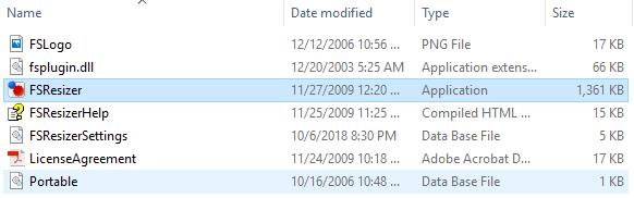 Program FastStone Resizer Untuk Mengurangi Ukuran Foto secara bersamaan di Windows 10