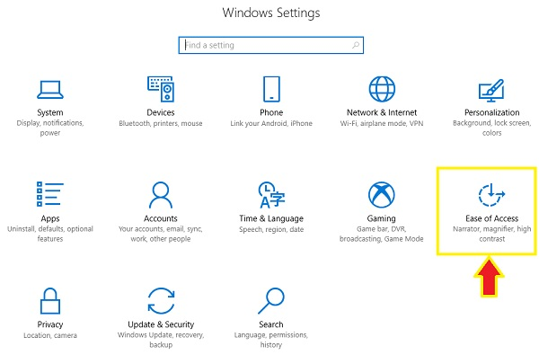 Setting Ease of Access Untuk Menampilkan On Screen Keyboard di Windows 10