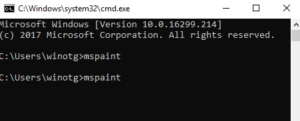 Cara menjalankan program di WIndows Menggunakan Command Prompt