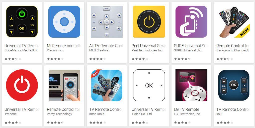 5 aplikasi remote TV di Android