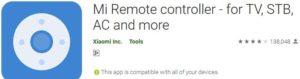 Aplikasi Remote TV Android Mi Remote Controller