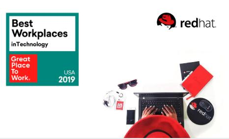 RedHat - No 5 Best Workplace In Technology