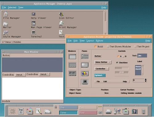 Common Desktop Environment dari Unix
