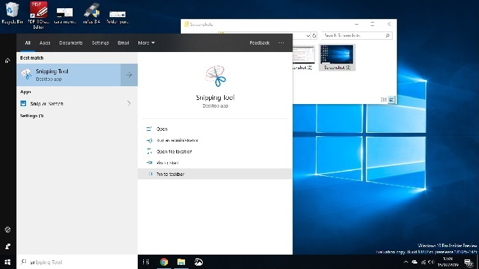Cara atur Snipping Tools supaya muncul di taskbar Windows 10