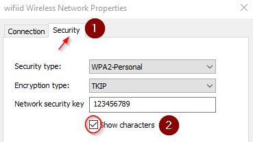 Melihat password wifi yang terkoneksi dengan komputer kita