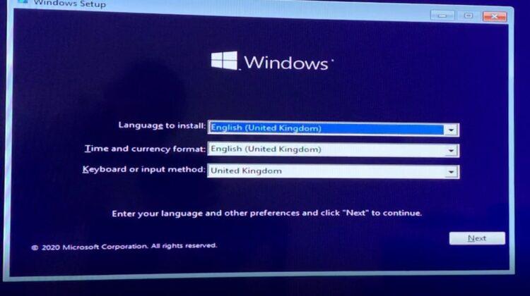 Cara install Windows 10 Terbaru