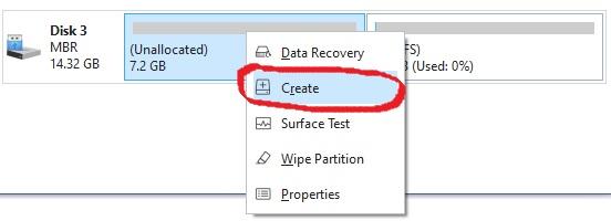 Cara membuat partisi hardisk di Windows 10