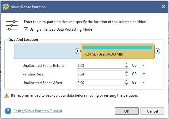Cara mengubah ukuran partisi hardisk dalam Windows 10